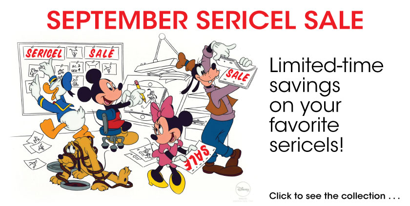 September Sericel Sale