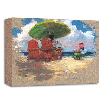 Treasures on Canvas: Shorefront Hula by James Coleman