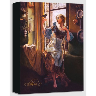 Treasures on Canvas: Cinderella's New Day by Heather Theurer