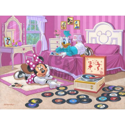 Minnie and Daisy's Favorite Tune by Manuel Hernandez