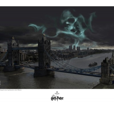 Dark Mark Over London by Stuart Craig
