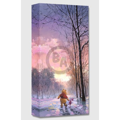 Treasures on Canvas: Snowy Path by Rodel Gonzalez