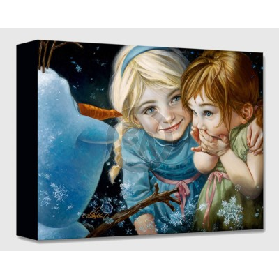 Treasures on Canvas: Never Let Go by Heather Theurer
