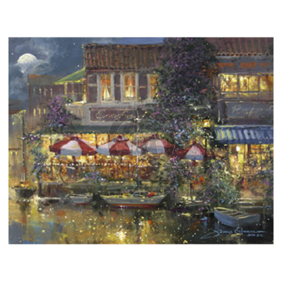 Harbor Cafe by James Coleman