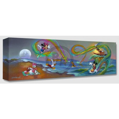Treasures on Canvas: Mickey's Crazy Wave by Jim Warren
