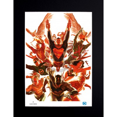 The World's Greatest Super-Heroes by Alex Ross (Lithograph)