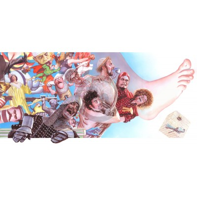 Monty Python by Alex Ross (Lithograph on Paper)