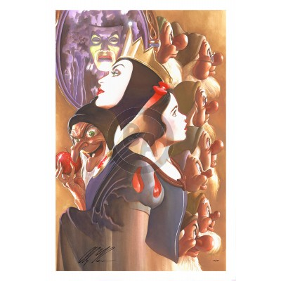 Once There Was a Princess by Alex Ross (Lithograph)