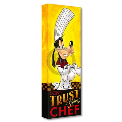 Treasures on Canvas: Don't Trust a Skinny Chef by Tim Rogerson