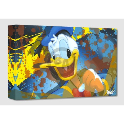 Treasures on Canvas: Donald Duck by ARCY