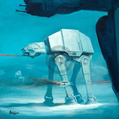 Imperial Walker by Rob Kaz