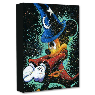 Treasures on Canvas: Mickey Casts a Spell by Stephen Fishwick