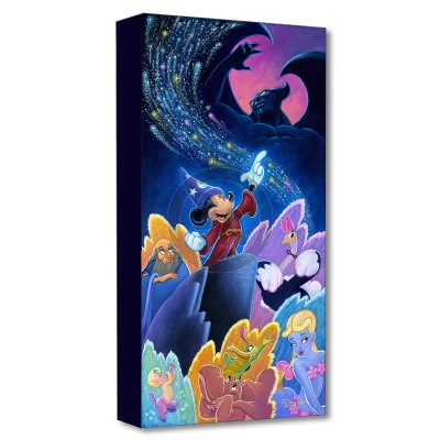 Treasures on Canvas: Splashes of Fantasia by Tim Rogerson