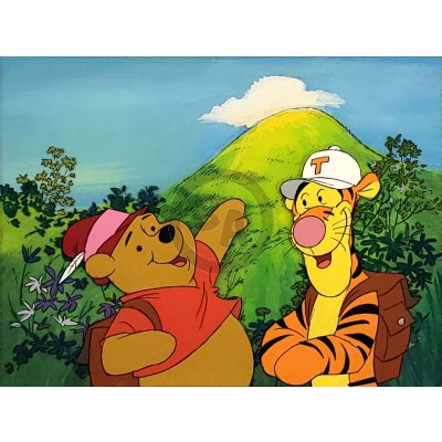 The New Adventures of Winnie the Pooh OPC: Winnie the Pooh and Tigger on a Hike (15586)