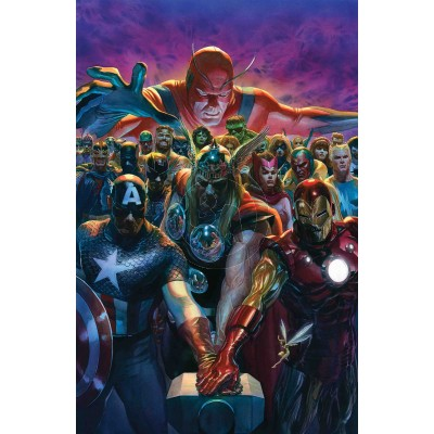 Avengers 700 by Alex Ross (Lithograph)