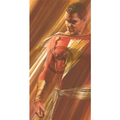 DC Shadows: SHAZAM! by Alex Ross