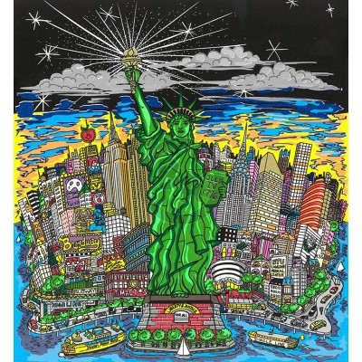 Liberty and Justice For All! by Charles Fazzino