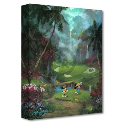Treasures on Canvas: 17th Tee in Paradise by James Coleman