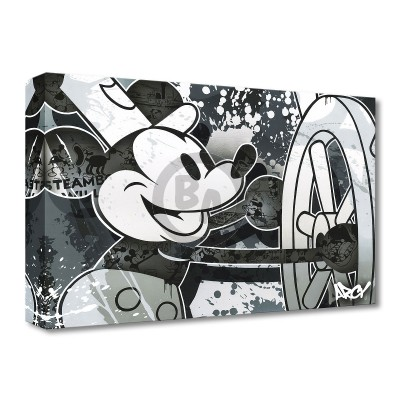 Treasures on Canvas: Steamboat Willie by ARCY