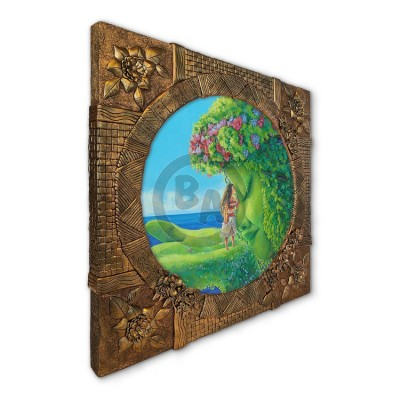 Te Fiti Artist-Embellished Premiere Edition by Denyse Klette
