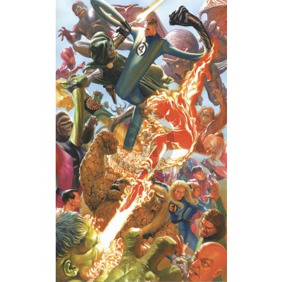 Marvelocity: Fantastic Four by Alex Ross