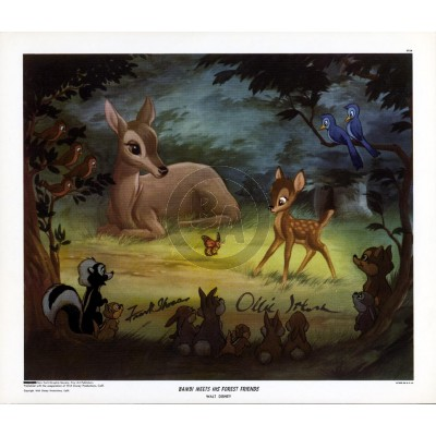 Bambi Meets His Forest Friends