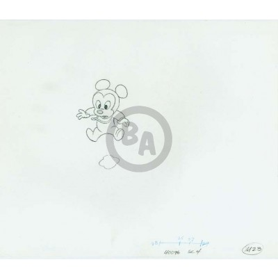 Luvs Commercial OPD: Baby Mickey Mouse Falling (2578)