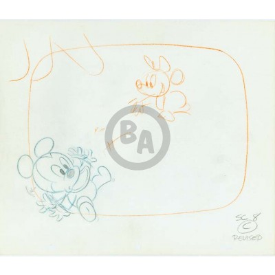 Luvs Commercial OPD: Baby Mickey And Minnie Mouse (2584)
