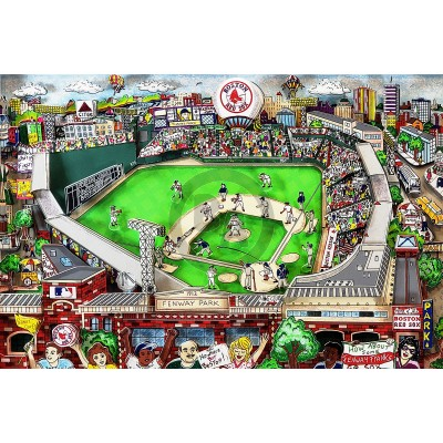 Red Sox Fever by Charles Fazzino (Artist Proof Deluxe)