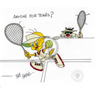 Anyone For Tennis? by Friz Freleng