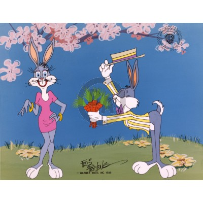 Bugs Courts Bonnie by Friz Freleng