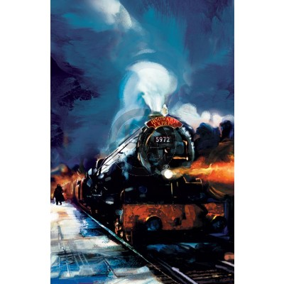 Hogwarts Express by Jim Salvati (Canvas)