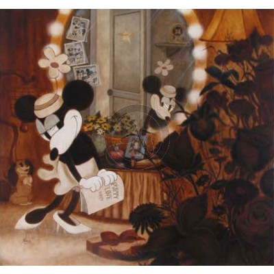 Minnie's Dressing Room by Mike Kupka