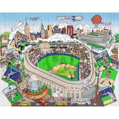 An All Star Tribute to Yankee Stadium by Charles Fazzino (Deluxe)
