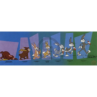 Evolution of Bugs by Chuck Jones
