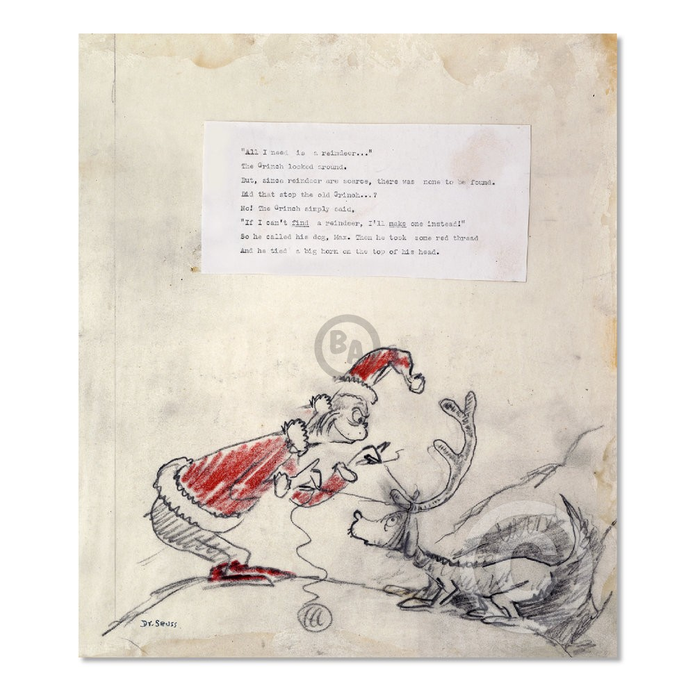 How The Grinch Stole Christmas Book Illustrations.All I Need Is A Reindeer By Dr Seuss