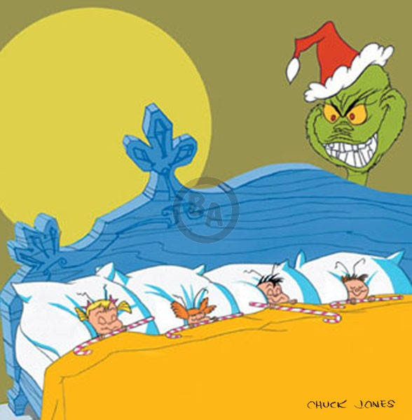 How The Grinch Stole Christmas Cindy Lou Cartoon.The Candy Cane Caper By Chuck Jones