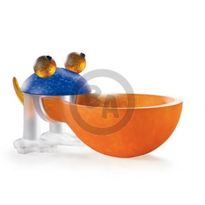 Borowski Frosch (frog) Bowl, Orange (24-01-36)