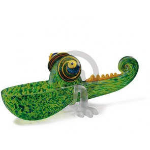 Borowski Chameleon Bowl, Green, Small (24-01-34)