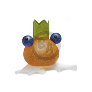 Borowski Frosch (frog) Candle Holder, Orange (24-01-59)