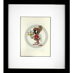 Chuck Jones Fine Art Etching: Marvin the Martian