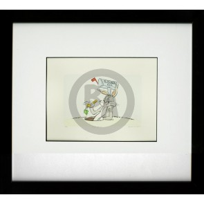 Chuck Jones Fine Art Etching: Bugs Bunny