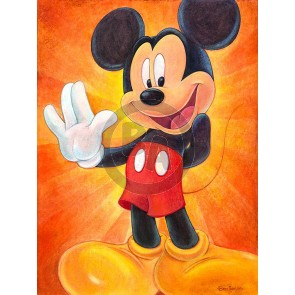 Hi, I'm Mickey Mouse by Bret Iwan