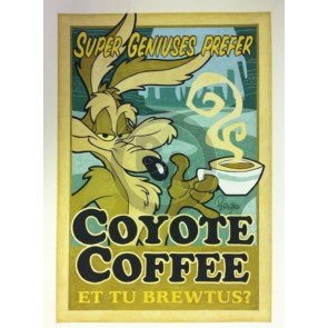 Coyote Coffee by Mike Peraza