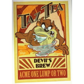Taz Tea by Mike Peraza