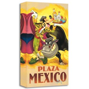 Treasures on Canvas: Goofy's Plaza Mexico by Tim Rogerson