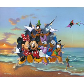 Mickey and the Gang's Grand Entrance by Jim Warren
