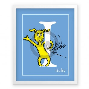 I, Itchy by Dr. Seuss (Blue)