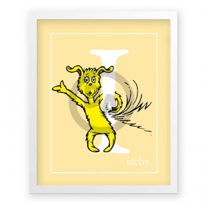 I, Itchy by Dr. Seuss (Yellow)