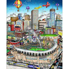 2014 MLB All-Star Game: Minnesota by Charles Fazzino